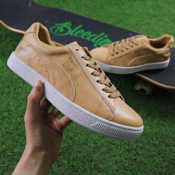 VON3TL Sale Sneaker Politics x PUMA Releasing Jay Z Inspired Trainer Shoes 4:44 Apricot Casual Shoes Low-Top Sneakers