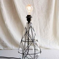 Magical Thinking Blown Glass Lamp Base- Clear One