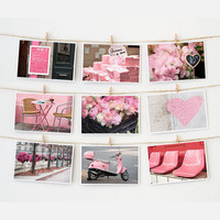 Nichole Robertson: Paris Postcard Collection Pink, at 17% off!