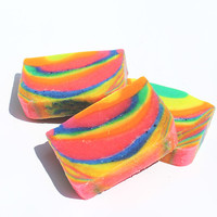 Citrus Jaw Breakers Rainbow Scented Soap Bar