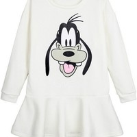 Cartoon Fleece Peplum Sweatshirt