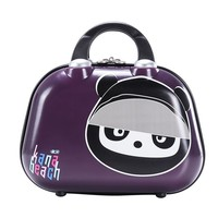12 inch Cute Travel Luggage Women Make up bags,Girls Cartoon Suitcase, Travel Cosmetic Bag For Children