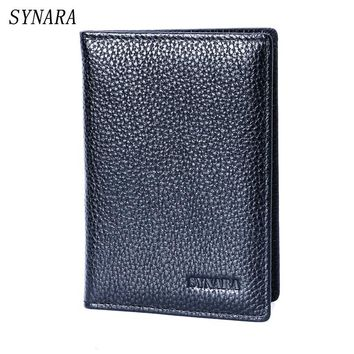2016 Hot Women & Men Fashion Genuine Leather Travel Passport Holder Cover ID Card Bag Passport Wallet Protective Sleeve