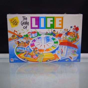 New Sealed The Game Of Life 2000 Milton Bradley Board Game Vintage Hasbro