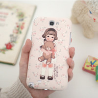 Paper Doll Galaxy Note 2 Case