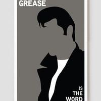 "Grease Is The Word Art Print / Poster 11"" x 17"""