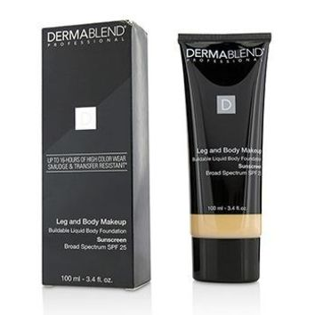 Dermablend Leg and Body Make Up Buildable Liquid Body Foundation Sunscreen Broad Spectrum SPF 25 - #Fair Ivory 10N Make Up