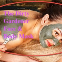 Organic Infused Mud Mask- Mix yourself and apply 8oz Dry.
