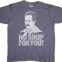 Seinfeld No Soup For You T-Shirt | Vintage TV Show Tees
