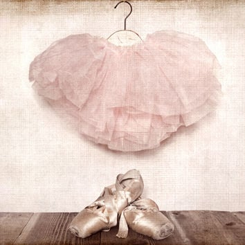 Vintage Ballet Slippers and Tutu