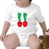 My happy Radish Bodysuit from Zazzle.com
