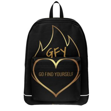 GFY Gold Heart Backpack