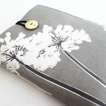 Macbook 11 inch Floral Sleeve Macbook Air/Pro Case Padded 11 in Microsoft Surface case, Google Nexus 10.