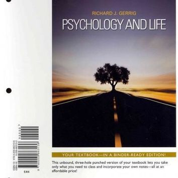 Psychology and Life: Books a La Carte Edition