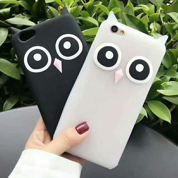 Fashion Owl Cartoon iPhone Phone Cover Case For iphone 6 6plus 7 7plus G-AGG-CZDL-1