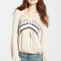 Women's Free People 'New World' Long Sleeve Top