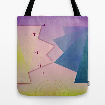 Into the Sunset Tote Bag by DuckyB (Brandi)