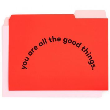 Compliments Get It Sorted File Folder Set by Bando