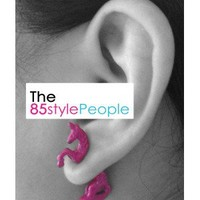 3D Colored Unicorn Ear Studs (Purple) - the85stylePeople