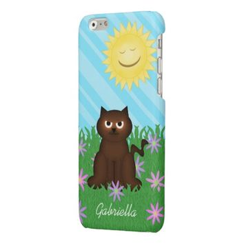 Brown Kitty On Spring Day Case