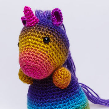 Special Edition Unicorn, Unicorn Plush, Unicorn Stuffed Animal, Unicorn Amigurumi, Unicorn Stuffed Toy, Crochet Unicorn, Unicorn Soft Toy