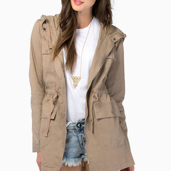 Lisa Lightweight Anorak Jacket $44
