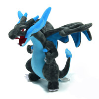 Japanese Anime Pokemon Mega Charizard Mega 23cm Soft Plush Stuffed Doll Toys Action Figures Gifts For friend Kids baby Boys