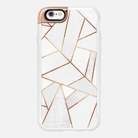 White Stone and Copper Lines iPhone 6s case by Elisabeth Fredriksson | Casetify