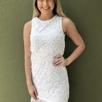 Lace Lover Dress - White