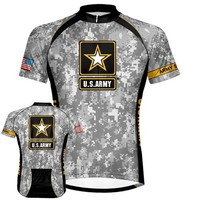 US Army - Camo Cycling Jersey