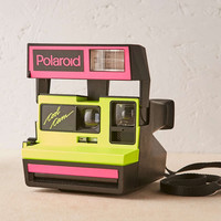 Impossible Project Neon Cool Rare Polaroid Camera - Urban Outfitters