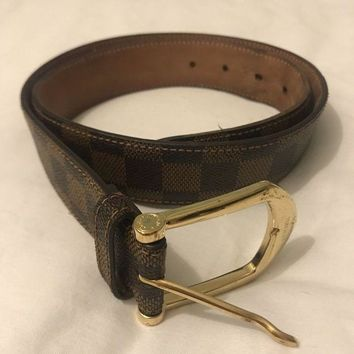 DCCKLO8 MENS LOUIS VUITTON BELT