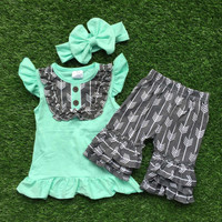 Tiffany Blue and Grey Arrow Set
