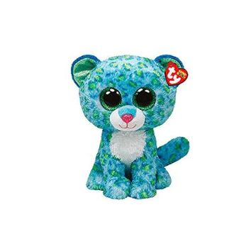 "Claire's Accessories Ty Beanie Boos Plush Leona the Leopard - 6"" Small"