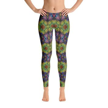 """Colliding Galaxies"" Standard Yoga Pants"