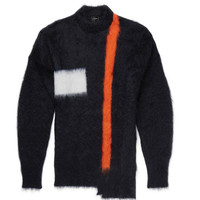 Jil Sander - Asymmetric Mohair-Blend Sweater | MR PORTER