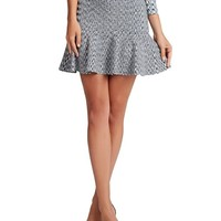 GUESS Women's Space-Dyed Flare Skirt