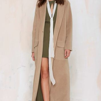 BB Dakota Melton Duster Coat