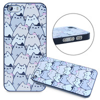 Because Cats Cute Funny Designs Skin Case Cover For iPhone 5 5S 5C 6 6 Plus