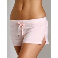 Juicy Couture Modal Tap Short With Lace Detail 9JMS1296 Medium or Large