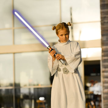 Princess Leia Star Wars Costume / Tunic / Dress for girls with belt for Halloween and dress up