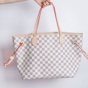 Louis Vuitton sells a two-piece printed one-shoulder bag for casual women High quality