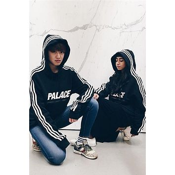 DCCK8H2 Palace Three Stripe Reflective Men's Hoodie
