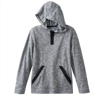 Tony Hawk Space-Dyed Hooded Henley - Boys 8-20, Size: