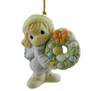 Precious Moments Deck The Halls Ornament Resin Ornament