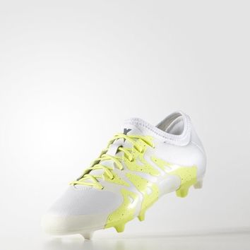 adidas X15.2 Firm/Artificial Ground Cleats - White | adidas US