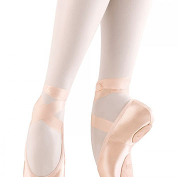 Bloch Women's Pink Eurostretch Stretch Pointe Shoes- Clearance