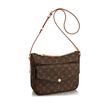 Louis Vuitton Monogram Coated Canvas Mabillon Handbag Bag Article: M41679 Made in France
