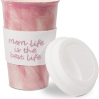 Mom life is the best life Ceramic Travel Coffee Mug