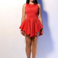 RED MARILYN DRESS